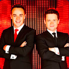 Ant and Dec - Bullseye hosts